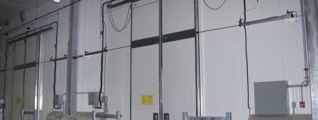 Sliding Cold Storage Doors