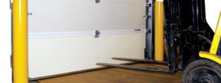 Impactable Composite Panel - Breakaway Doors