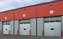 Corrosion and Rust Resistant Industrial Sectional Doors