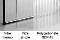 Thermo glass / Single glass / SDP-16 Polycarbonate