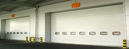 Impact Resistant Breakaway Traffic Door